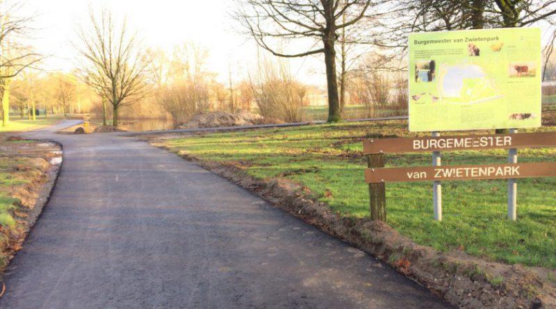 Werkzaamheden burgemeester van Zwietenpark Noorderplas Maaspoort