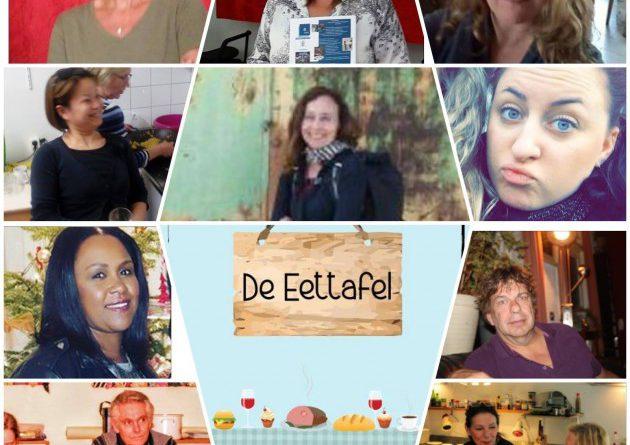 De eettafel in Maaspoort Den Bosch