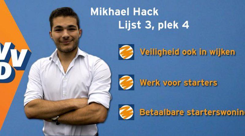 Mikhael Hack, VVD, Lijst 3, nummer 4