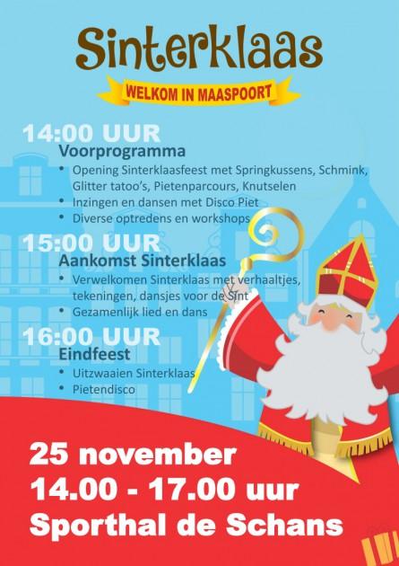 Sinterklaas Maaspoort Den Bosch Scc de Schans