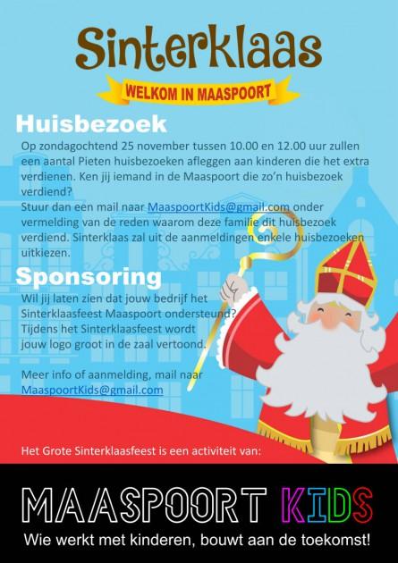 Sinterklaas Maaspoort 2018