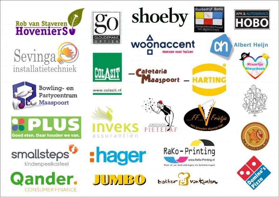 sponsors sinterklaas Maaspoort 2018